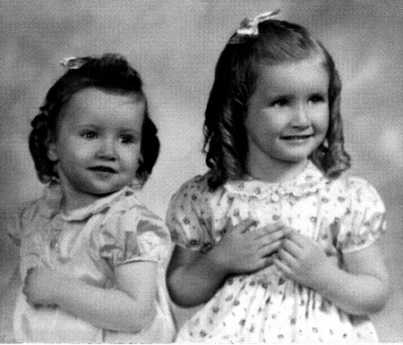 01 My sister Miriam on the left and Dianna on right.
